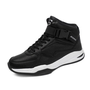 Open image in slideshow, Men's Leather Basketball Sneakers