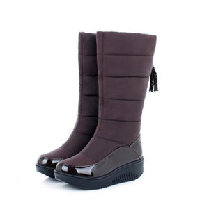 Wedge Winter Boots