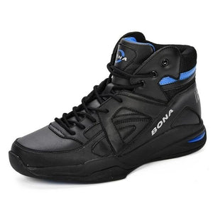 Open image in slideshow, Leather Basketball Sneakers