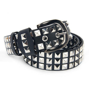 Open image in slideshow, Rivets Punk Belt