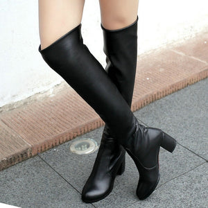 Open image in slideshow, Knee High Winter Boots