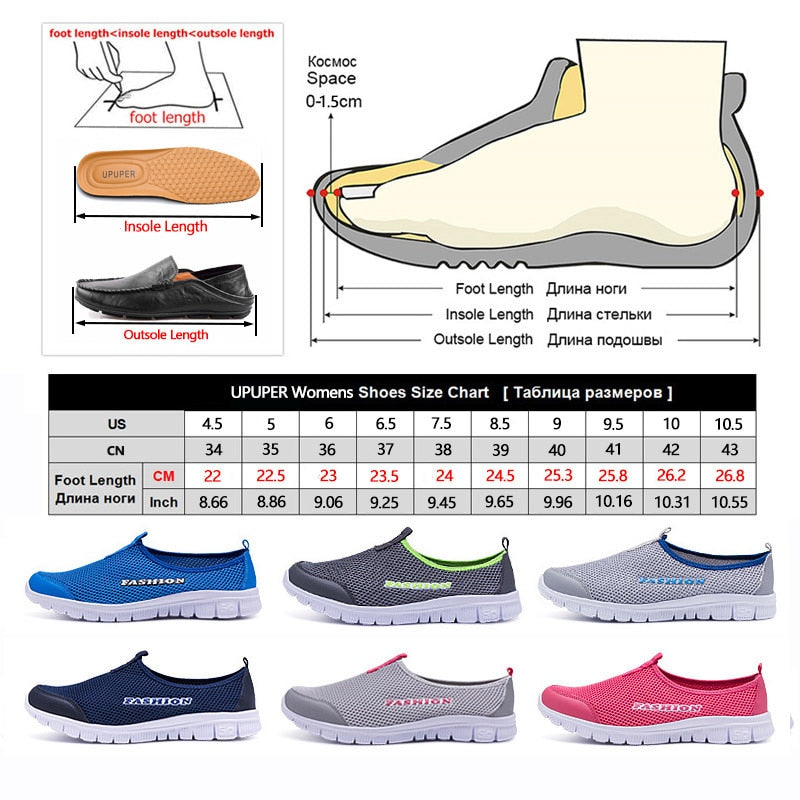 Breathable Mesh Sneakers