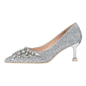 Open image in slideshow, Crystal & Glitter Pumps