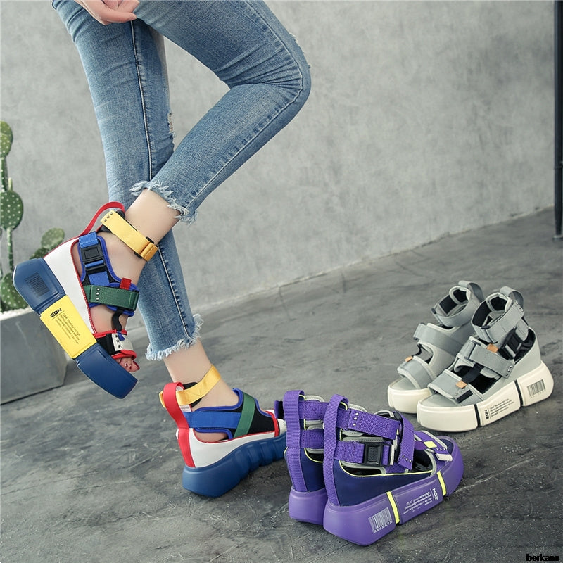 Wedge Chunky Platform Sandals