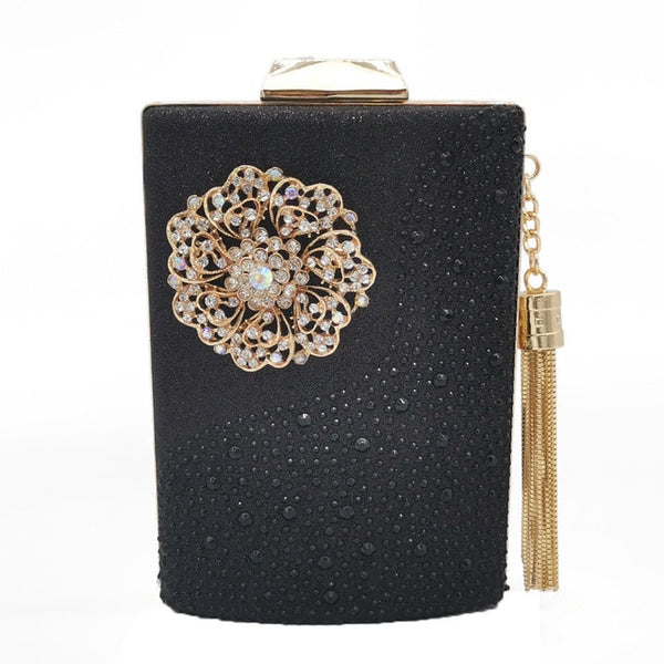 Flower Tassel Clutch
