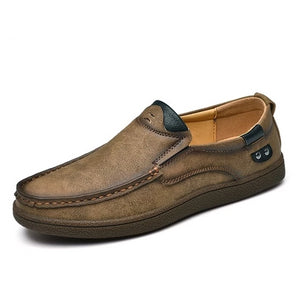 Open image in slideshow, Genuine Leather Men Loafers