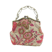Load image into Gallery viewer, Embroidered Floral Clutch