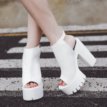 Load image into Gallery viewer, Slingback High Heel Platform Sandals