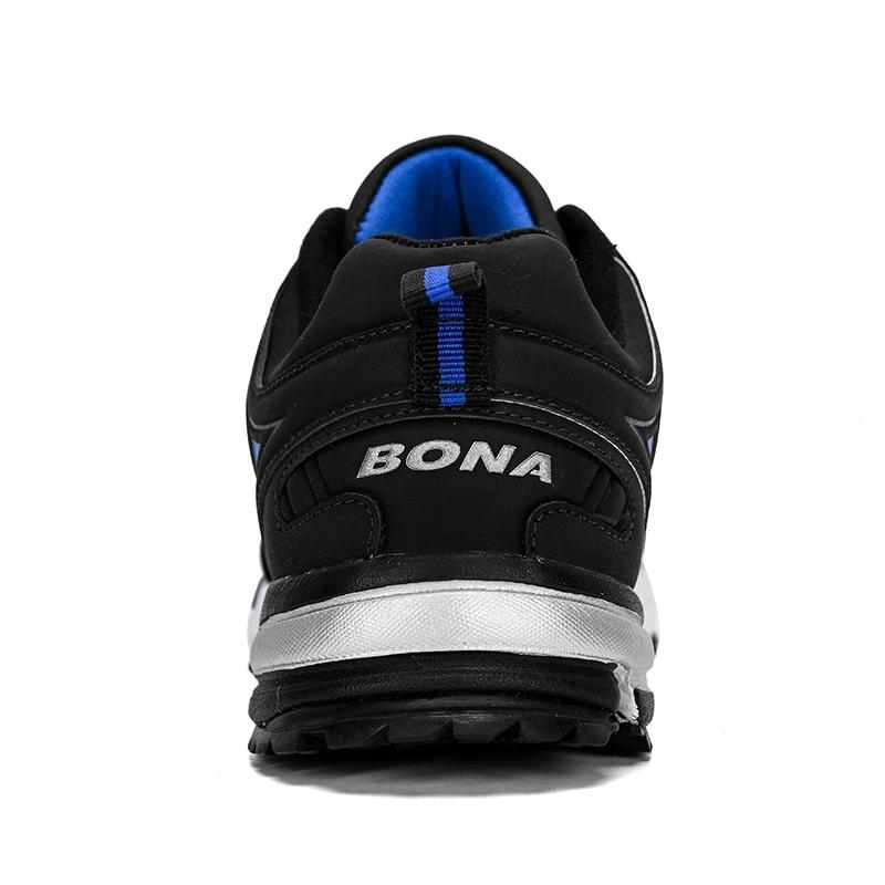 Men's Leather Running Sneakers