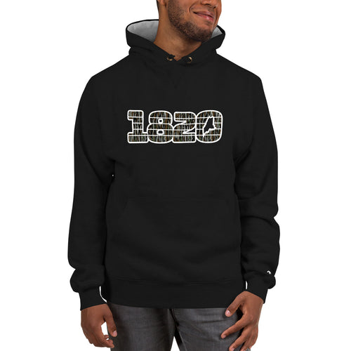 Camo 1820 Collection Spellout Champion Hoodie