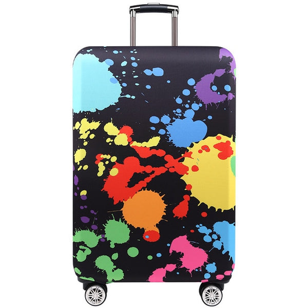 Trendy Travel Luggage Protective Cover