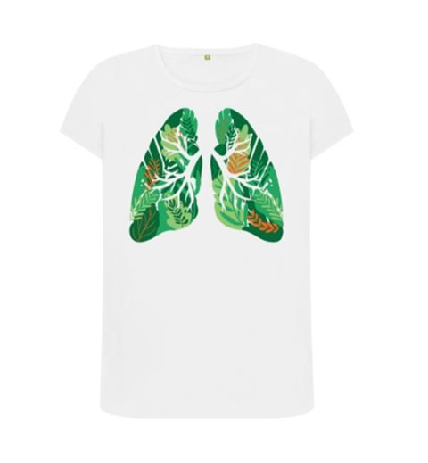 Healthy Lungs Tshirt - Mishi Makes - Made In Folkestone