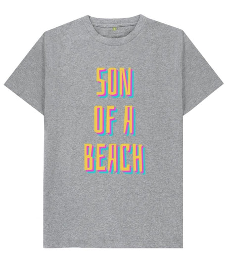 Son Of A Beach Tshirt - Mishi Makes - Made In Folkestone