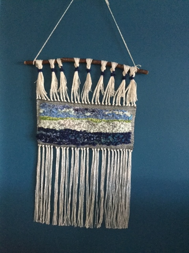'White Cliffs Of Dover' Weaving - Yarncrafts - Made In Folkestone
