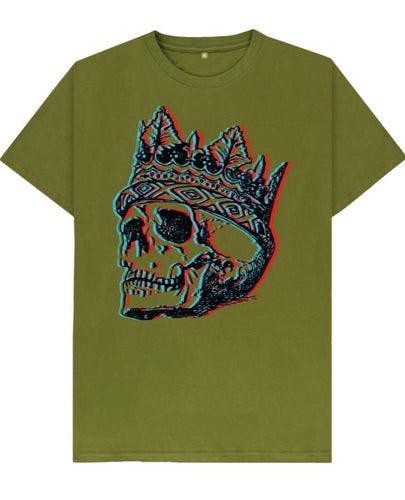 Skull & Crown Tshirt - Mishi Makes - Made In Folkestone