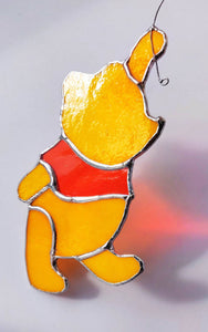 HEART Winnie-the-Pooh Hanging Decoration - Art Studio Krea
