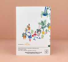 Load image into Gallery viewer, 'Plant Lovers' Greetings Card - Luna May
