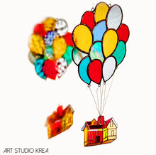 Load image into Gallery viewer, UP in the sky Hanging Decoration - Art Studio Krea