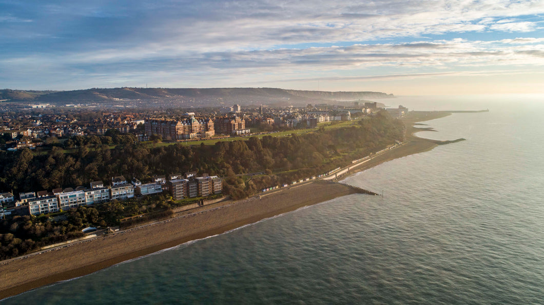 Folkestone from the air - Dirk Seyfried - Made In Folkestone
