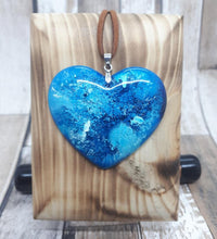 Load image into Gallery viewer, Handmade Heart Pendant - Natural Sparkes - Made In Folkestone