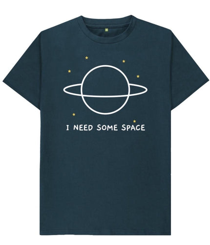 I Need Some Space Tshirt - Mishi Makes - Made In Folkestone