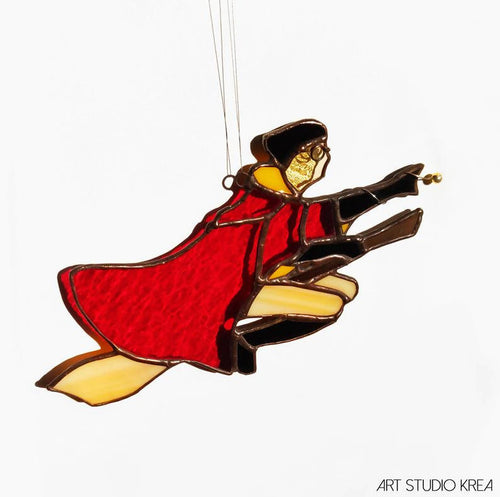 Harry chasing a snitch HP Hanging Decoration - Art Studio Krea