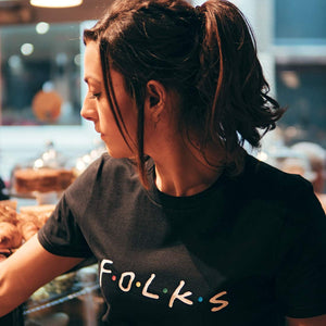 Folks T-Shirt - The Quarter Masters - Made In Folkestone