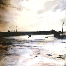 Load image into Gallery viewer, 'Harbour' Folkestone Print - Sophie Wyllie Art