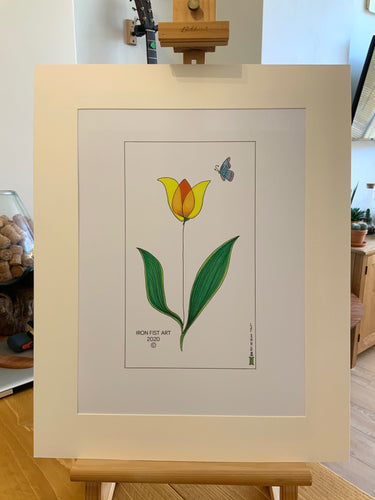'Tulip' - Iron Fist Art - Made In Folkestone