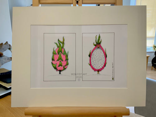 Dragon Fruit - Iron Fist Art - Made In Folkestone