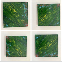 Load image into Gallery viewer, Original Abstract Art Fluid Acrylic Canvas - Mandy Aldridge - Made In Folkestone
