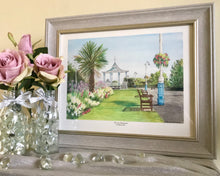 Load image into Gallery viewer, 'The Leas Bandstand' Framed Print - Hilary Firth