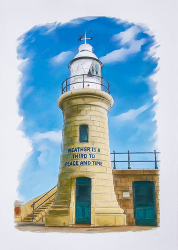 Folkestone Lighthouse - Goosemoose Paint - Made In Folkestone