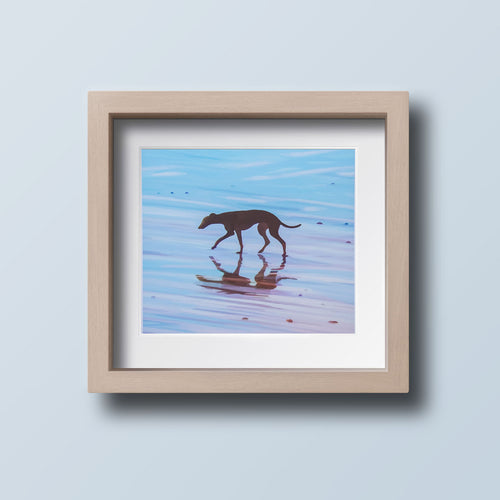 Beach Greyhound - Goosemoose Paint - Made In Folkestone