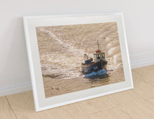 Load image into Gallery viewer, Fishing Boat Returns - Goosemoose Paint