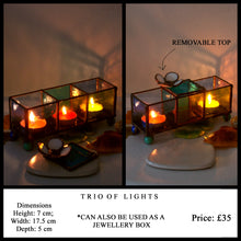Load image into Gallery viewer, Jewellery Box / Candle Holder - Art Studio Krea - Made In Folkestone