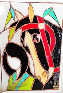Mulan Stained Glass Wall Hanging - Art Studio Krea - Made In Folkestone