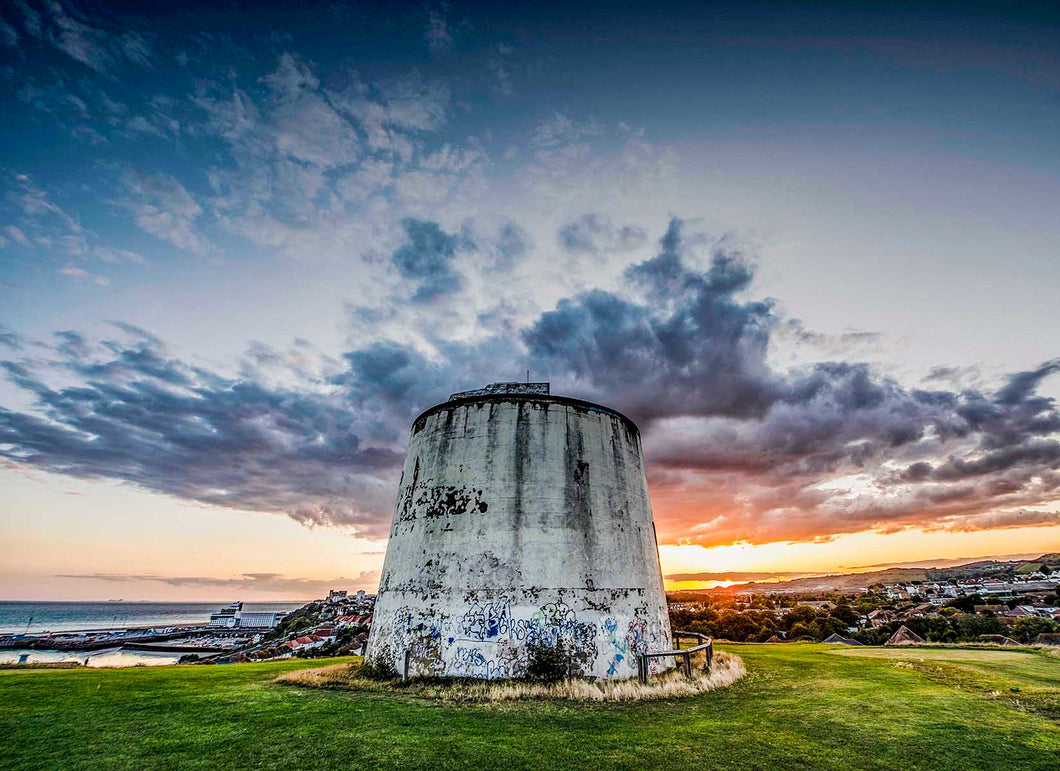 The Martello Tower Mounted Print - Dirk Seyfried - Made In Folkestone