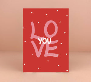 Love You Card - Luna May