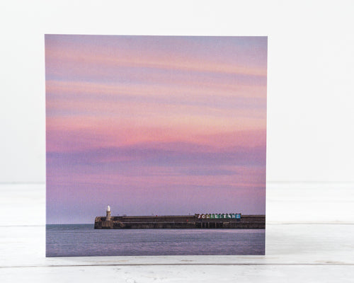 Pink Skies Greetings Card – Scene By Emma