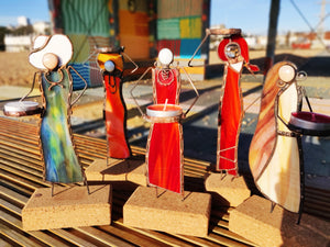 Pretty Women Candle Holders - Art Studio Krea - Made In Folkestone