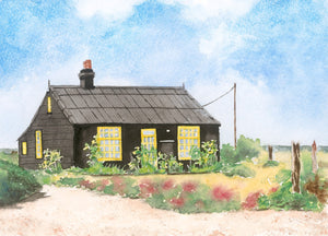 'Prospect Cottage - Dungeness' - Hilary Firth