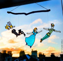 Load image into Gallery viewer, Peter Pan COMPLETE Hanging Decoration - Art Studio Krea