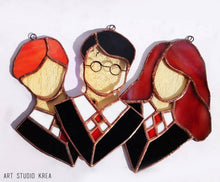 Load image into Gallery viewer, The Golden Trio HP Hanging Decoration - Art Studio Krea