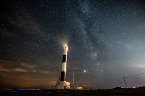 Dungeness Lighthouse With Milky Way - Dirk Seyfried