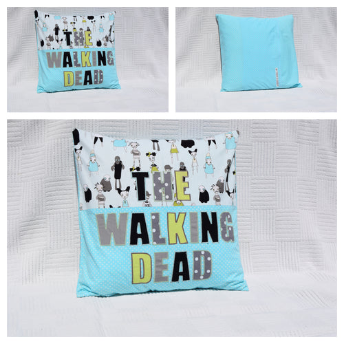 The Walking Dead Cushion - Poppykins - Made In Folkestone