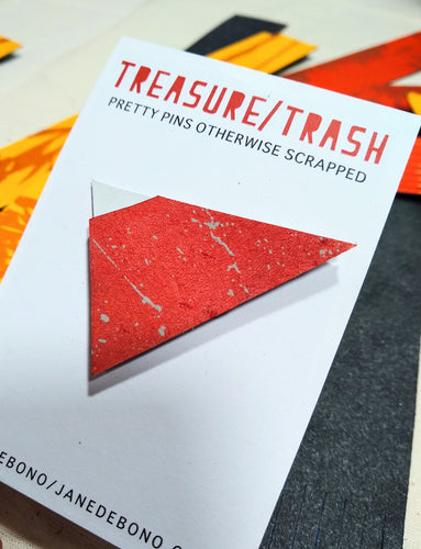 Treasure Trash Brooch - Jane De Bono - Made In Folkestone