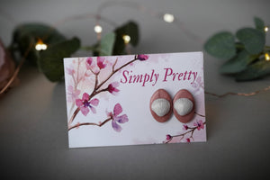 Flower, Bird and Shell Earrings - Simply Pretty Craft