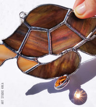 Load image into Gallery viewer, Searching For Nemo Stained Glass Decoration - Made In Folkestone