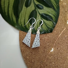 Load image into Gallery viewer, Lexi Pendant Leather Earrings